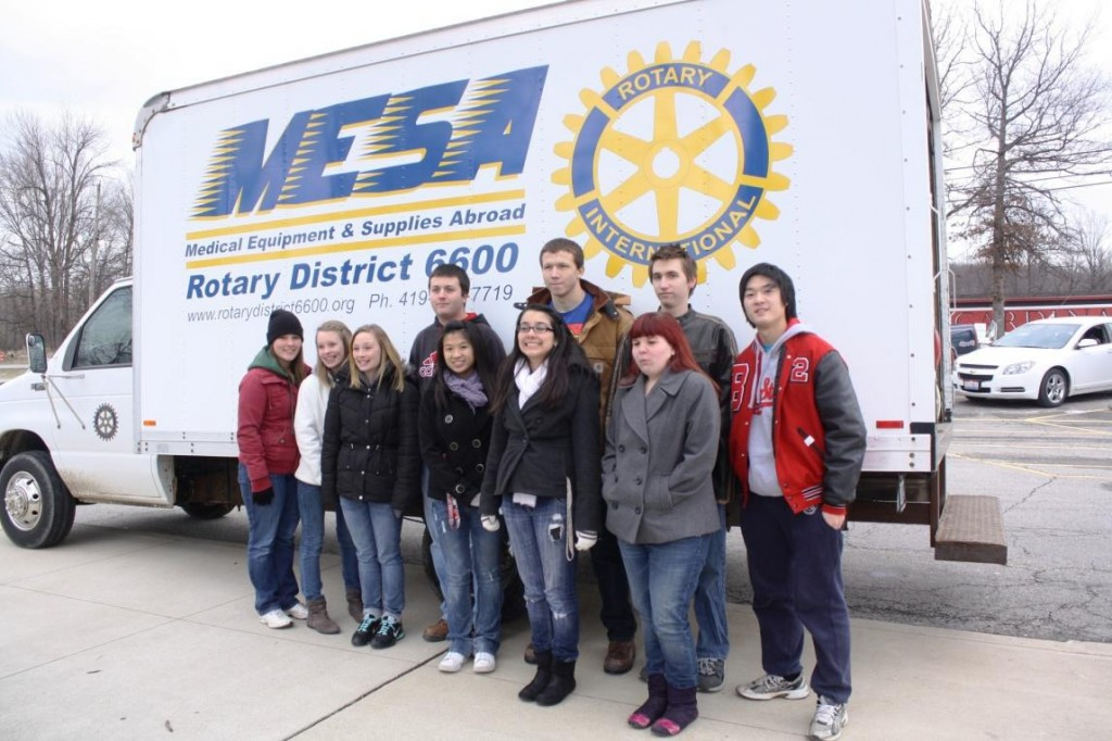 Brookfield HS Interact Club (sponsored by the Rotary Club of Avon/Avon Lake) has conducted two drives to send toys and games to Belize