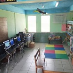A finished resource center.  Most of the time the toys and games were brought to the preschool, or infant 1/infant 2 classrooms (our equivalent of kindergarten, grades 1 and 2 respectively).